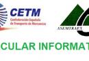 Circular CETM Nº 036-G-18. NOTA SOBRE REQUISITOS DEL EMBALAJE DE MADERA (PALETAS) EN COMERCIO INTERNACIONAL